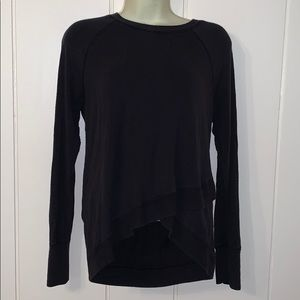 Athleta black long sleeved T-shirt